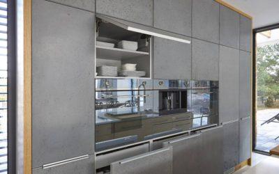 Architectural concrete furniture facades
