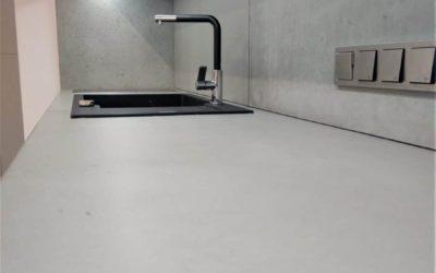 Architectural concrete countertops